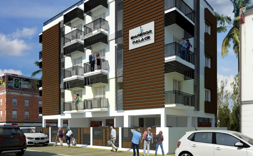 Apartment Elevation Design in Trichy
