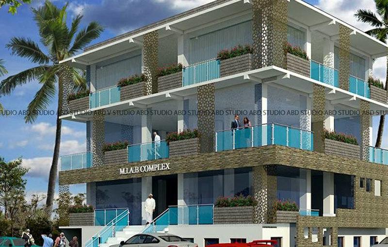 Commercial Complex Elevation Design