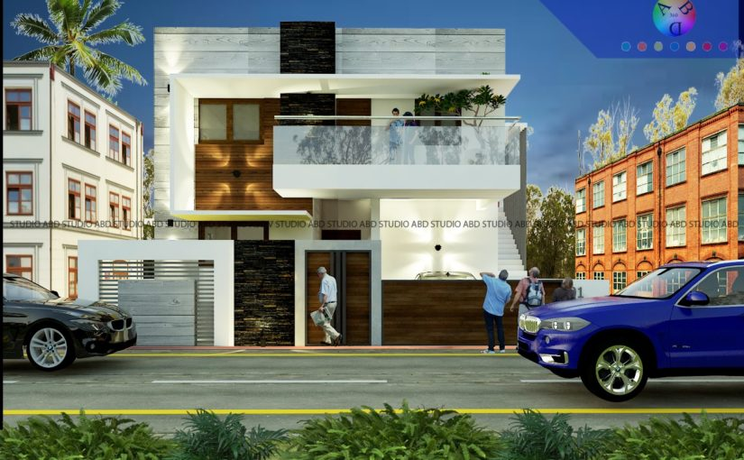 Elevation Design for Villas