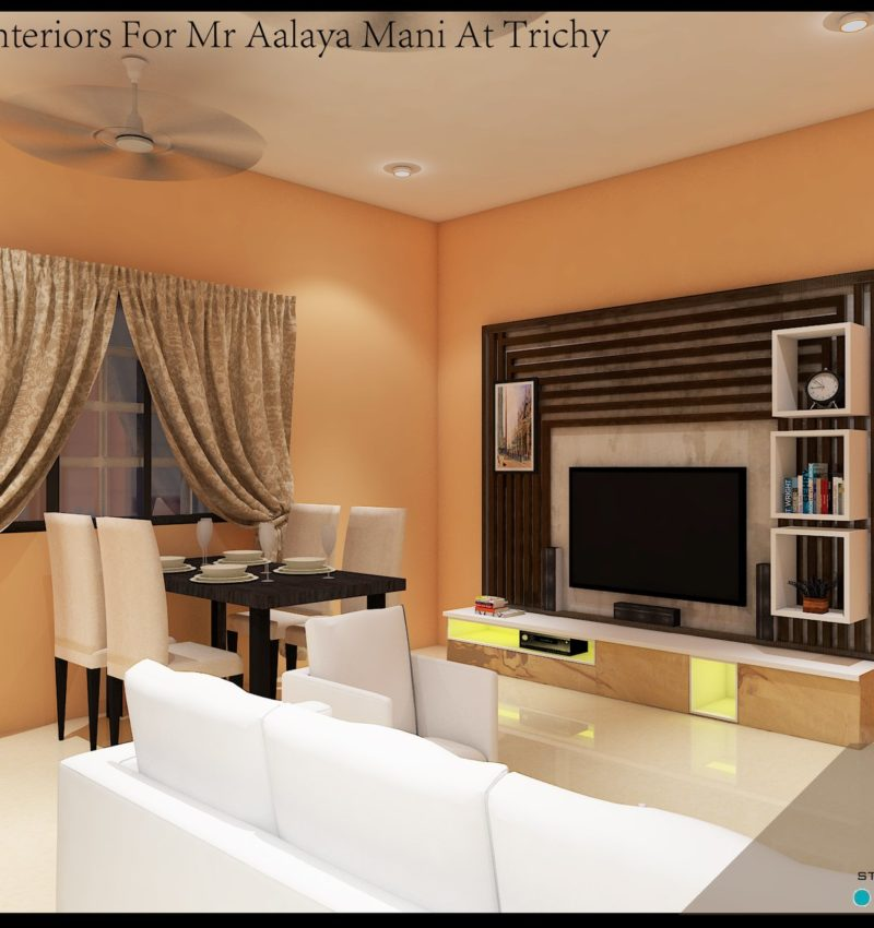 Apartment Interiors in Trichy