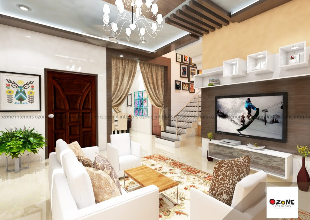 Interior design for Residence at Trichy