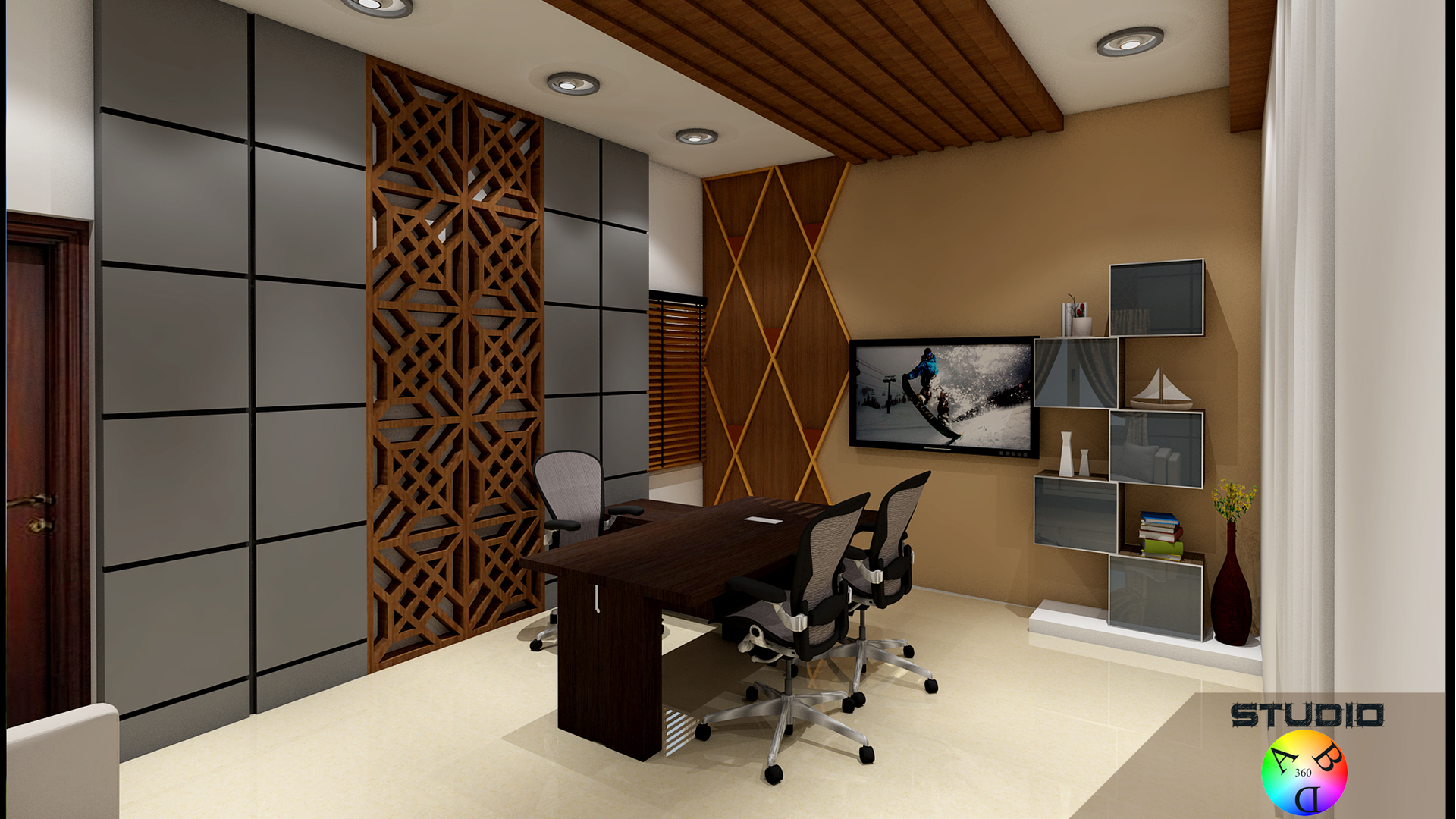 Interiors for office at Trichy