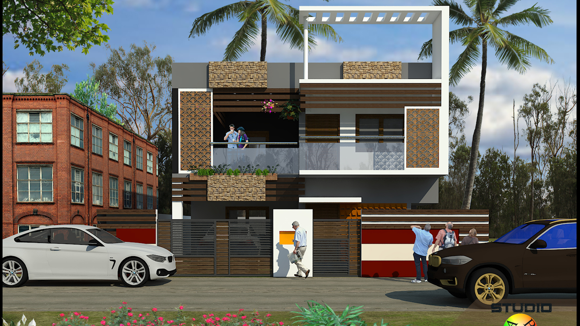 Elevation design in Trichy