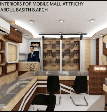Interior Design For Mobile mall At Trichy